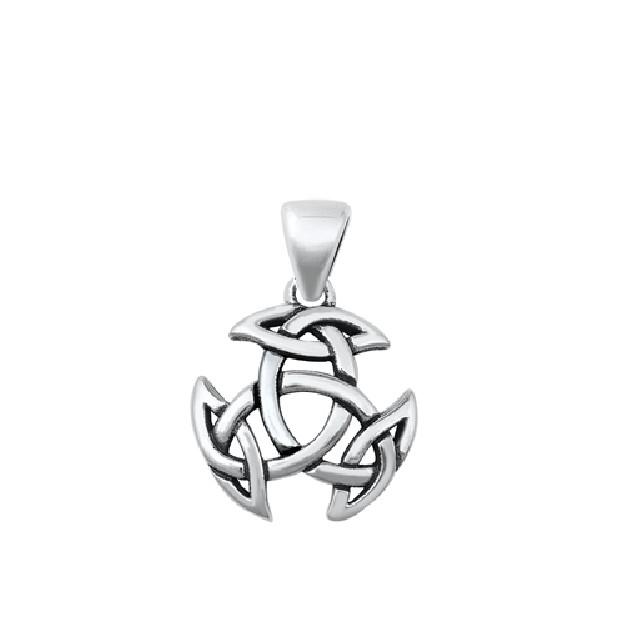 PENDENTIF mixte Symbole celtique argent 925