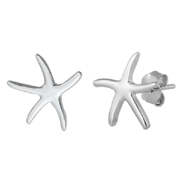 Boucles d'oreilles rétro triangle en Argent Massif