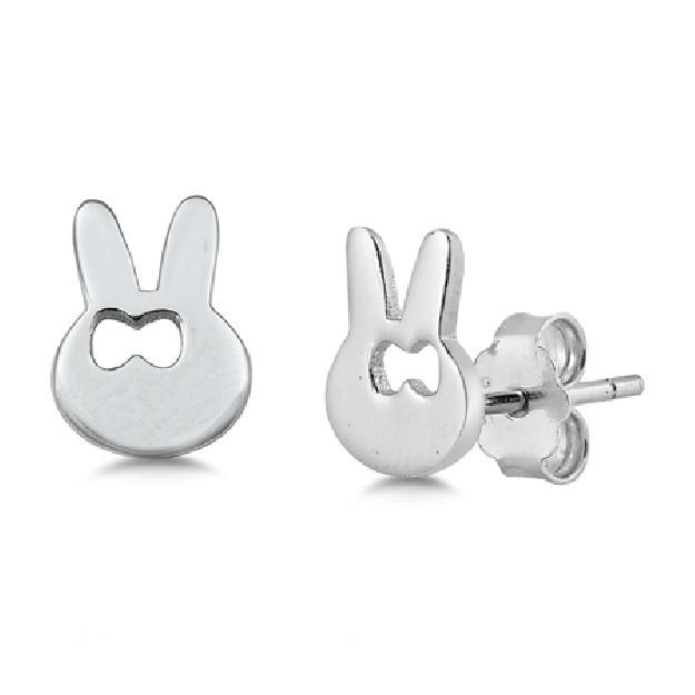 Boucles d'oreilles en Argent Massif