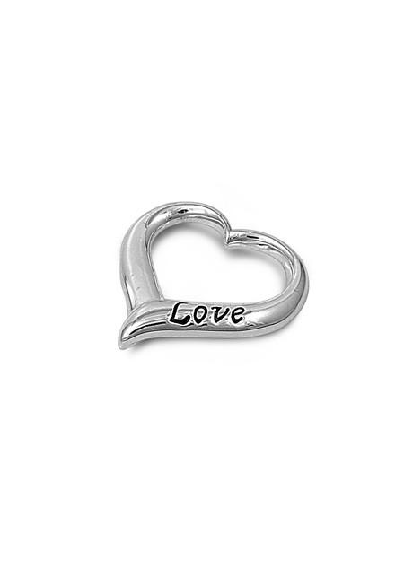 """Pendentif Cœur """"LOVE"""" en argent 925"""