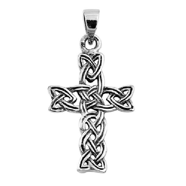 Pendentif Croix Celtique en Argent 925