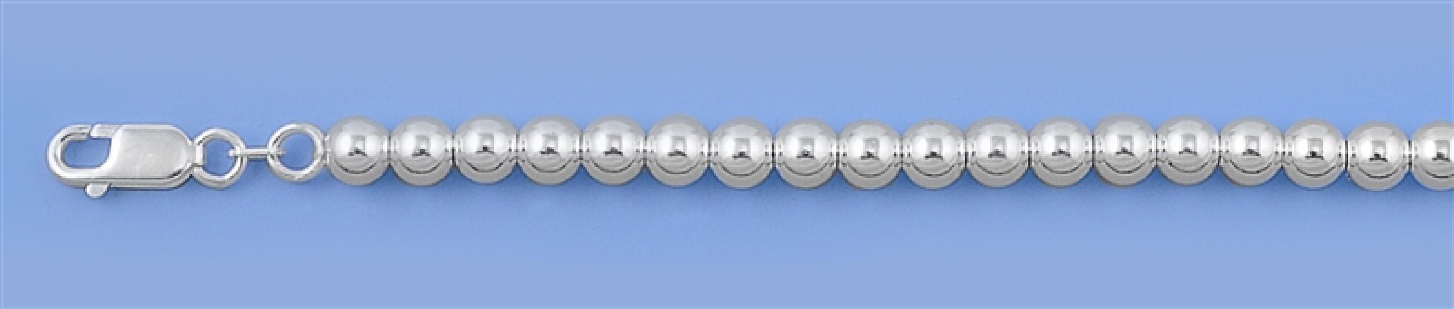 Chaine collier Boule 5 MM argent 925