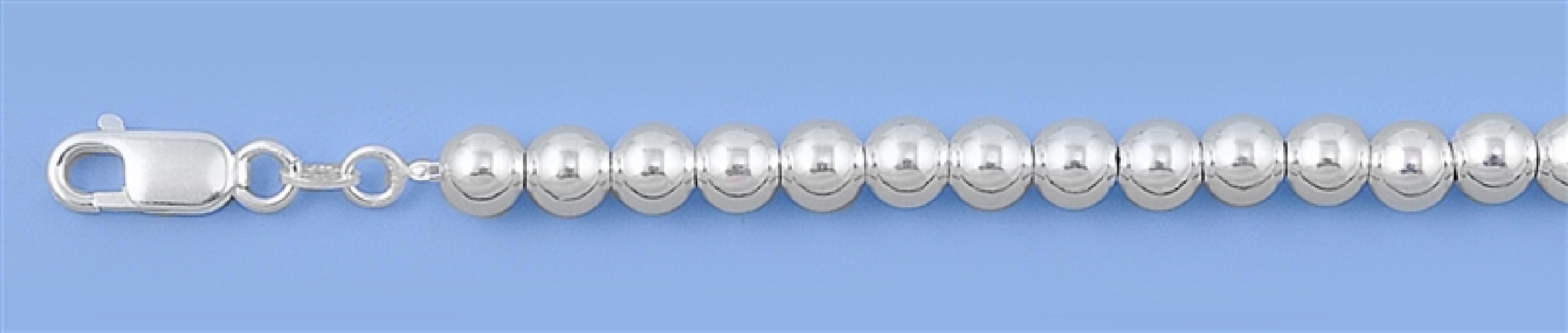 Chaine collier Boule 6 MM argent 925