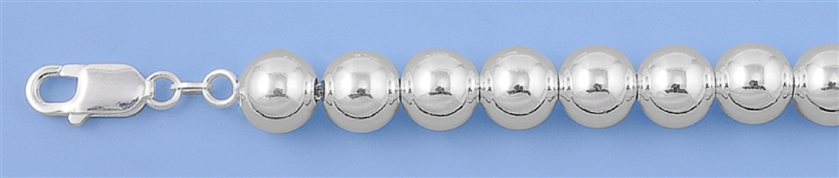 Chaine collier Boule 10 MM argent 925